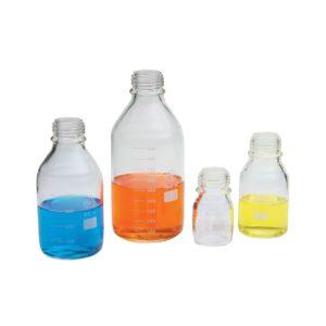 Butelki laboratoryjne - bez zakrętek i pierścieni - Simax