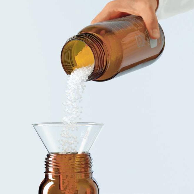 Butelki laboratoryjne ze szkła Duran z szeroką szyją - oranżowe - Schott-3