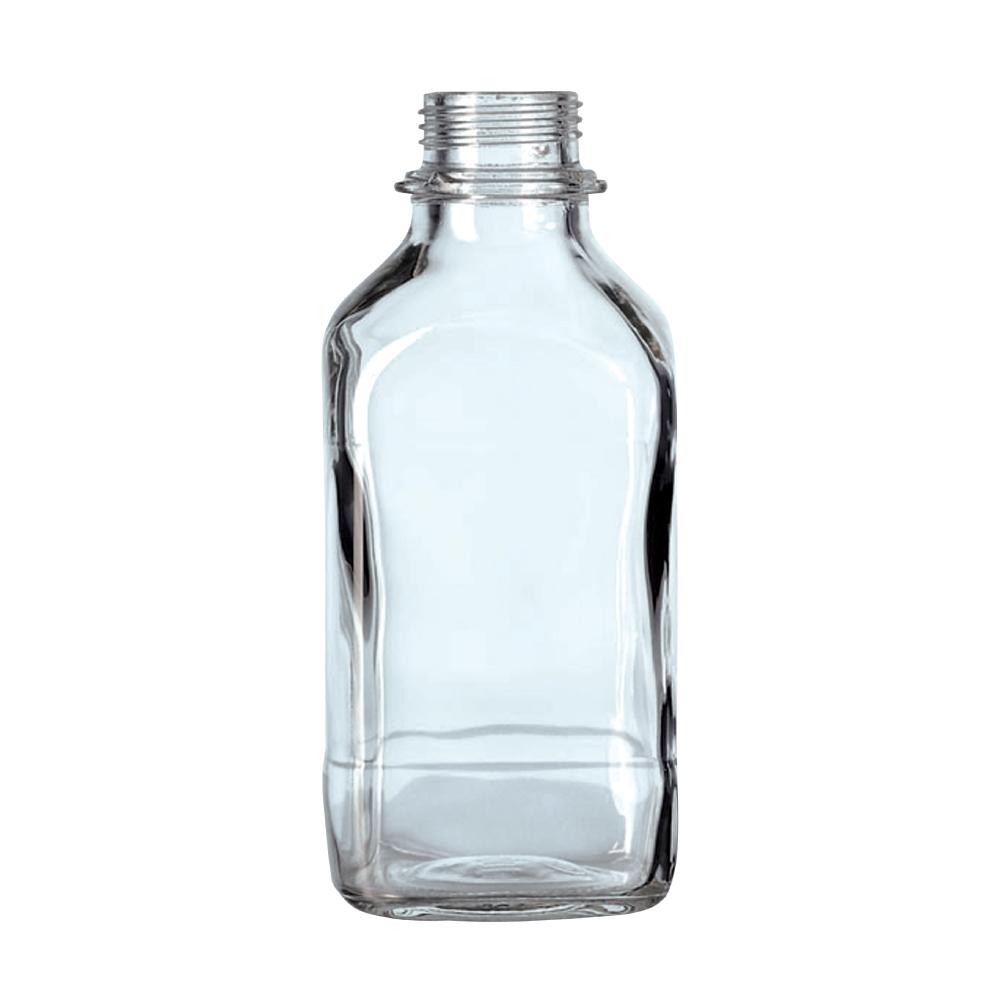 Kwadratowe butelki laboratoryjne - bez zakrętek - Schott
