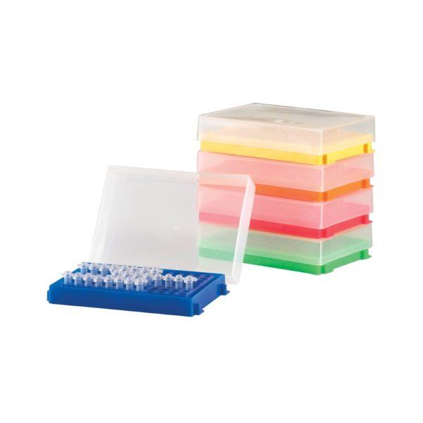 Pudełka 96-miejscowe na probówki PCR – Heathrow Scientific