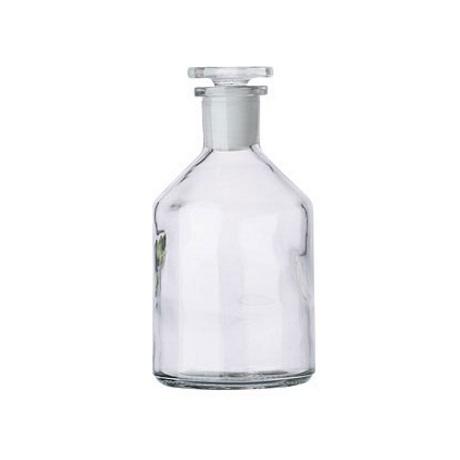 Jasne butelki szklane z wąską szyjką – o poj. 50 ml – 2 l