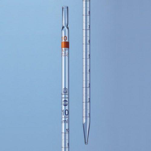 Pipety wielomiarowe z objętością nominalną nadrukowaną u góry - klasa AS - Brand