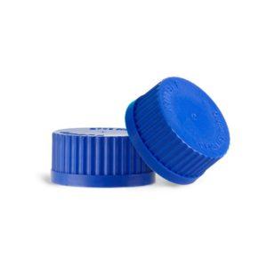 Zakrętki niebieskie z PP - Kimax