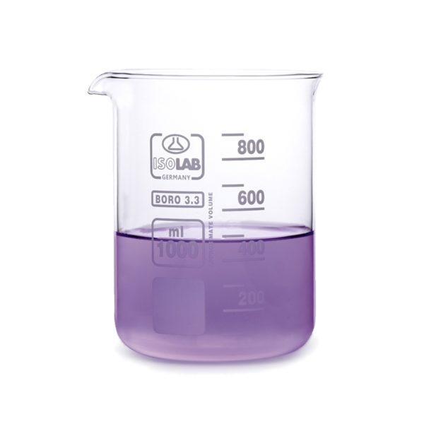 Zlewki laboratoryjne - niskie - Isolab