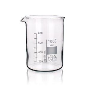 Zlewki laboratoryjne - niskie - Simax