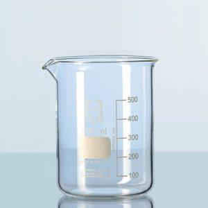 Zlewki laboratoryjne ze szkła Duran - niskie - Schott