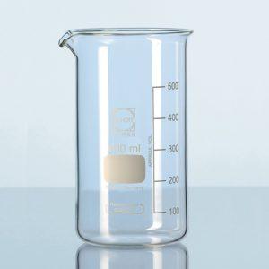 Zlewki laboratoryjne ze szkła Duran - wysokie - Schott
