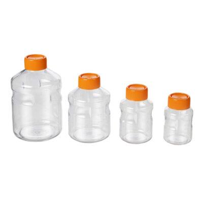 Butelki na media do kultur komórkowych - o poj. 150 ml - 1 l