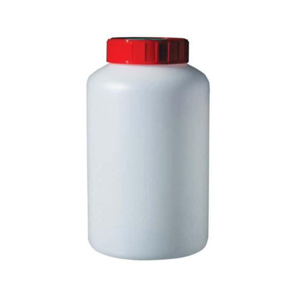 Butelki z HDPE z szeroką szyją - sterylne - o poj. 100 ml - 2 l