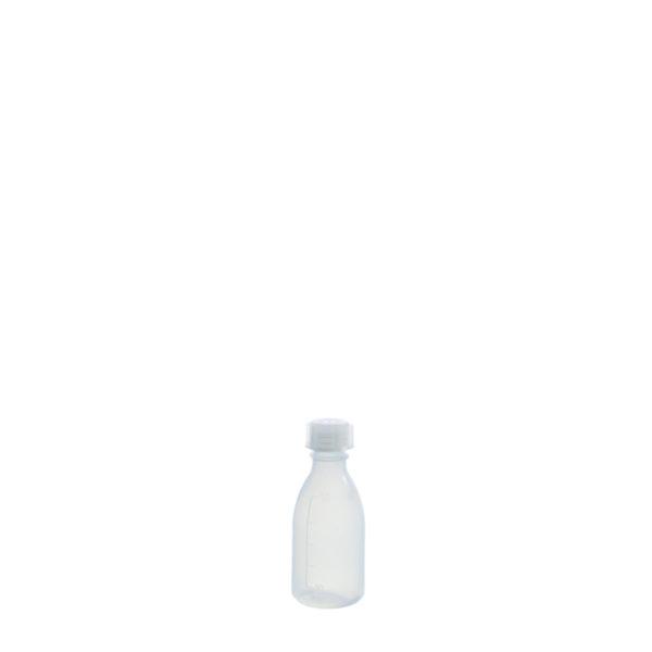Butelki z tworzywa LDPE z nakrętką - wąska szyjka - o poj. 50 ml - 2 l