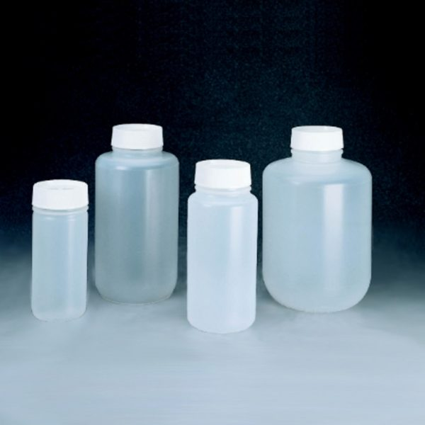 Butle z PP z nakrętką - szeroka szyjka - typ Mason - Nalgene