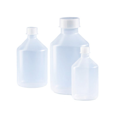 Butle z PP z nakrętką - wąska szyjka - o poj. 10 ml - 10 l - Vitlab