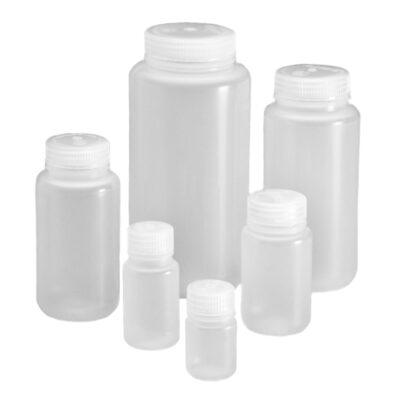 Butle z PPCO z nakrętką z PP - szeroka szyjka - o poj. 30 ml - 1 l