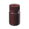Butle z tworzywa HDPE z nakrętką - szeroka szyjka - kolor brązowy - o poj. 30 ml - 1 l - b-6474 - butle-z-tworzywa-hdpe-z-nakretka-szeroka-szyjka-kolor-brazowy - 30-ml - 28-415 - 35-mm - 625-mm - 12-szt