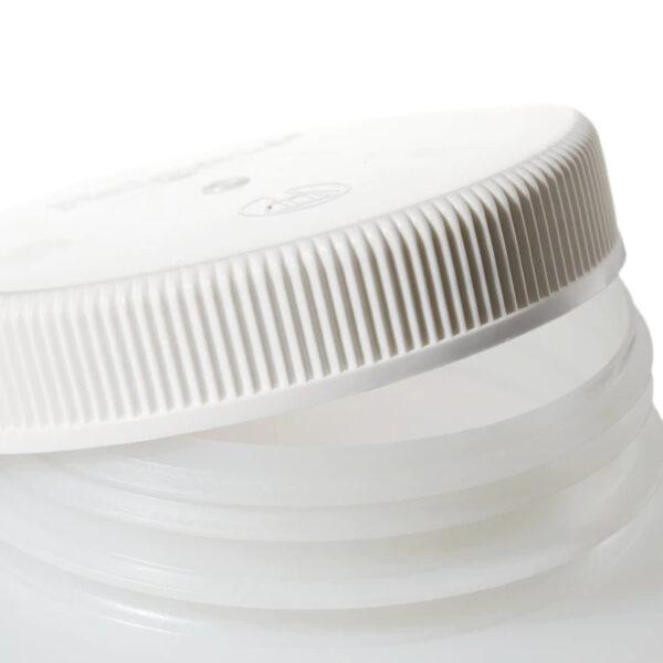 Butle z tworzywa HDPE z nakrętką - szeroka szyjka - o poj. 30 ml - 4 l