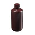 Butle z tworzywa HDPE z nakrętką - wąska szyjka - kolor brązowy - o poj. 4 ml - 1 l - b-6459 - butle-z-tworzywa-hdpe-z-nakretka-waska-szyjka-kolor-brazowy - 1000-ml - 38-430 - 91-mm - 199-mm - 6-szt