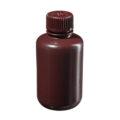 Butle z tworzywa HDPE z nakrętką - wąska szyjka - kolor brązowy - o poj. 4 ml - 1 l - b-6456 - butle-z-tworzywa-hdpe-z-nakretka-waska-szyjka-kolor-brazowy - 125-ml - 24-410 - 51-mm - 98-mm - 12-szt