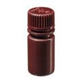 Butle z tworzywa HDPE z nakrętką - wąska szyjka - kolor brązowy - o poj. 4 ml - 1 l - b-6453 - butle-z-tworzywa-hdpe-z-nakretka-waska-szyjka-kolor-brazowy - 15-ml - 20-410 - 25-mm - 58-mm - 12-szt