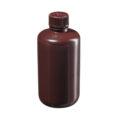 Butle z tworzywa HDPE z nakrętką - wąska szyjka - kolor brązowy - o poj. 4 ml - 1 l - b-6457 - butle-z-tworzywa-hdpe-z-nakretka-waska-szyjka-kolor-brazowy - 250-ml - 24-410 - 61-mm - 133-mm - 12-szt