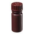 Butle z tworzywa HDPE z nakrętką - wąska szyjka - kolor brązowy - o poj. 4 ml - 1 l - b-6451 - butle-z-tworzywa-hdpe-z-nakretka-waska-szyjka-kolor-brazowy - 4-ml - 13-415 - 16-mm - 41-mm - 12-szt