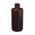 Butle z tworzywa HDPE z nakrętką - wąska szyjka - kolor brązowy - o poj. 4 ml - 1 l - b-6458 - butle-z-tworzywa-hdpe-z-nakretka-waska-szyjka-kolor-brazowy - 500-ml - 28-410 - 72-mm-2 - 164-mm - 12-szt