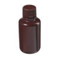 Butle z tworzywa HDPE z nakrętką - wąska szyjka - kolor brązowy - o poj. 4 ml - 1 l - b-6455 - butle-z-tworzywa-hdpe-z-nakretka-waska-szyjka-kolor-brazowy - 60-ml - 20-410 - 39-mm - 88-mm - 12-szt