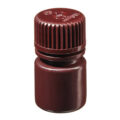 Butle z tworzywa HDPE z nakrętką - wąska szyjka - kolor brązowy - o poj. 4 ml - 1 l - b-6452 - butle-z-tworzywa-hdpe-z-nakretka-waska-szyjka-kolor-brazowy - 8-ml - 20-410 - 25-mm - 44-mm - 12-szt