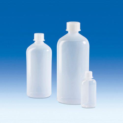 Butle z tworzywa LDPE z nakrętką z tworzywa PP - wąska szyjka - Vitlab