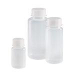 Butle z tworzywa LDPE z nakrętką z tworzywa PP - szeroka szyjka - o poj. 50 ml - 1 l - Vitlab - n-6486 - butle-z-tworzywa-ldpe-z-nakretka-z-tworzywa-pp-szeroka-szyjka - 50-ml - gl-32 - 87-mm - 39-mm - 24-szt