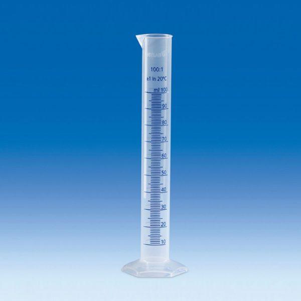 Cylinder pomiarowy (PP), wysoki, klasa B