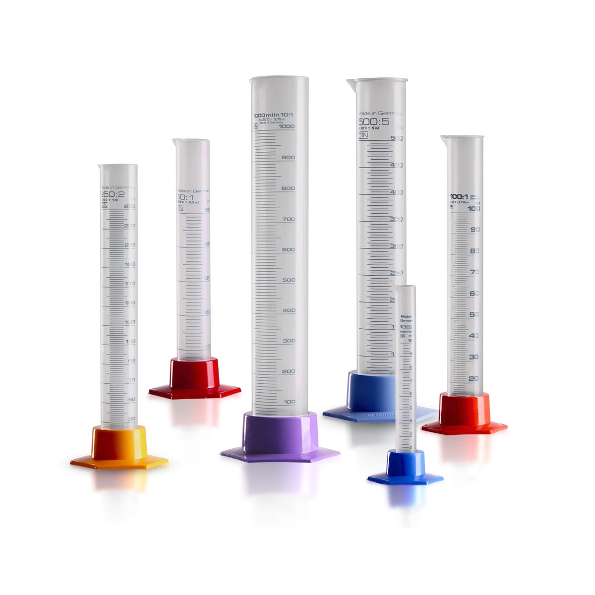 Cylindry pomiarowe (PP), klasa B