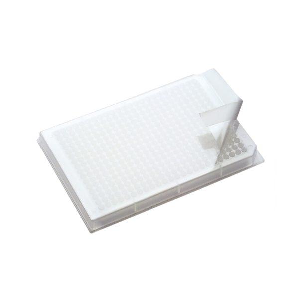 Folie uszczelniające na płytki do PCR z PP
