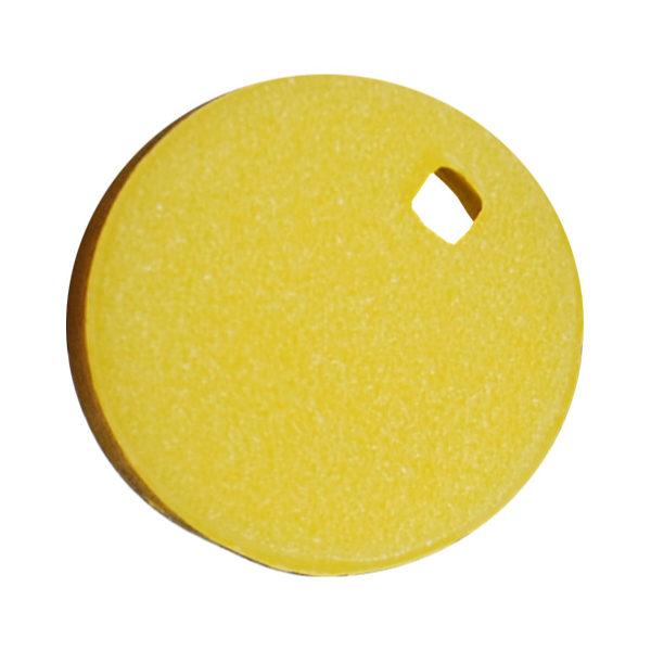 Kolorowe krążki do znakowania krioprobówek - żółty