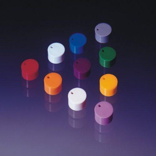 Kolorowe krążki do znakowania krioprobówek