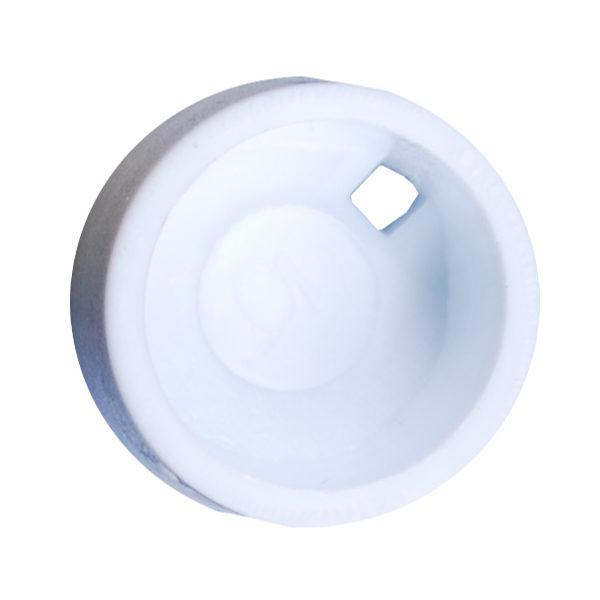 Kolorowe krążki do znakowania krioprobówek - biały