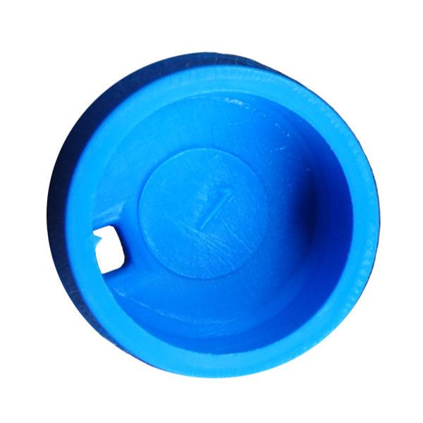 Kolorowe krążki do znakowania krioprobówek - niebieski