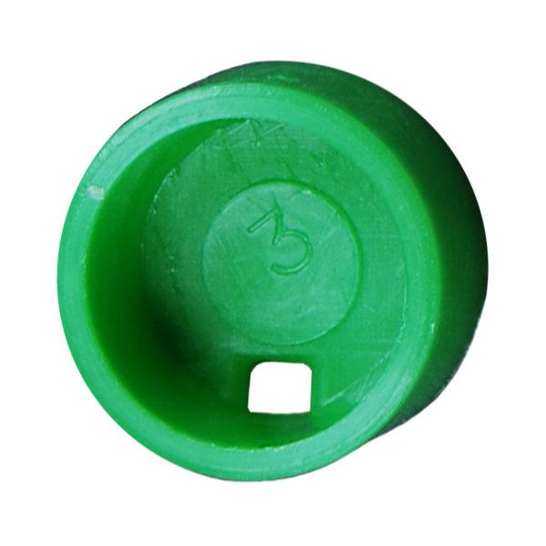 Kolorowe krążki do znakowania krioprobówek - zielony