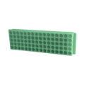 Kolorowe statywy Top-Rack, 80-miejscowe - neoLab - 2-2565 - statyw-top-rack-80-miejscowy - zielony
