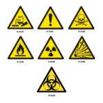 Naklejki ostrzegawcze - n-0190 - naklejka-ostrzegawcza-substancje-zrace