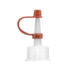 Nakrętki LDPE do kroplomierza, na wąską szyjkę - b-6429 - nakretka-ldpe-do-kroplomierza-na-waska-szyjke - 14-mm - 102030-ml - 1-szt