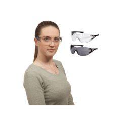 Okulary ochronne x-trend z szybką Wrap-around