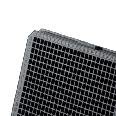 Płytki 384-dołkowe - czarne - Greiner Bio-One - 2