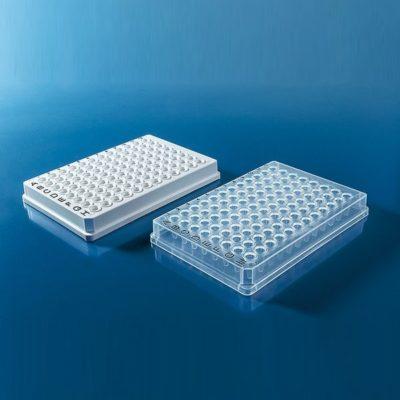 Płytki do PCR, 96-dołkowe, skirted - Brand