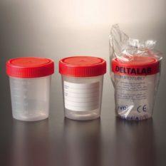 Pojemniki z PP na próbki, poj. 120 ml
