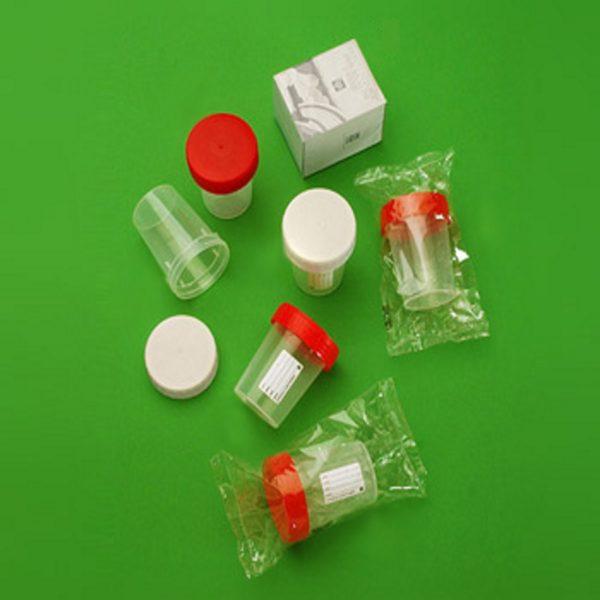 Pojemniki z PP na próbki, poj. 180 ml