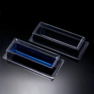 Przeźroczyste zbiorniki na odczynniki