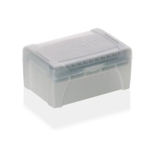 Pudełka na wkłady uzupełniające z końcówkami do pipet Sartorius Biohit