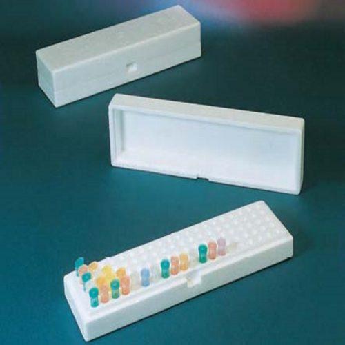 Pudełka styropianowe EPRACKS na 100 probówek 1,5-2,0 ml