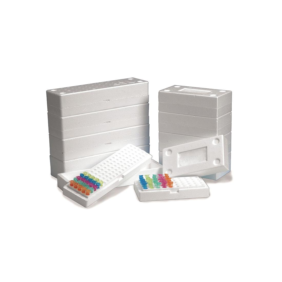 Pudełka styropianowe na probówki 1,5-2,0 ml - Heathrow Scientific