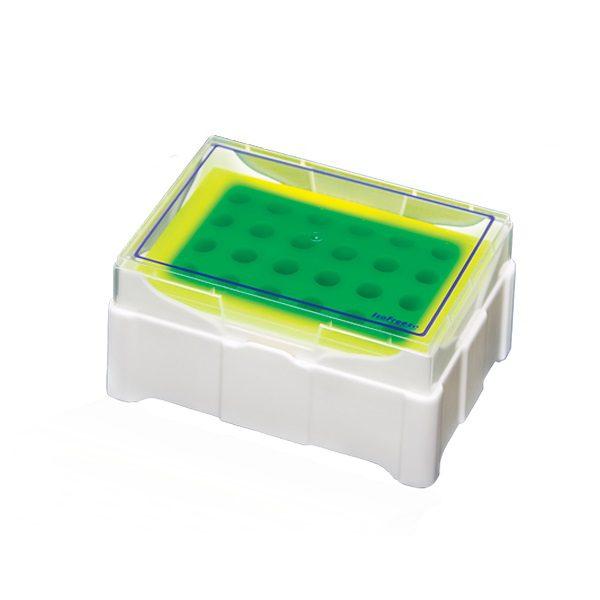 Pudełko chłodzące ThermoCooler na probówki 0,5-2,0 ml żółty